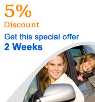5 percent discount car hire Malaga for 2 weeks