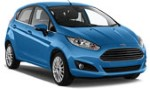 CA Ford Fiesta 5 doors automatic, Renault Clio 5 doors automatic for hire at Malaga airport