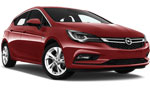 DA Opel Astra 5 doors automatic, Ford Focus 5 doors automatic for hire at Malaga airport