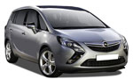 Malaga Car Hire - Opel Zafira 7 seaters