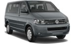 PQ VW Transporter 9p Auto for hire at Malaga airport