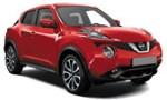 XB Nissan Juke Auto, Opel Mokka X Auto for hire at Malaga airport