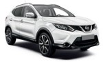 XD Nissan Qashqai Auto, Seat Ateca Auto for hire at Malaga airport