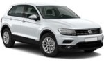 XF VW Tiguan Auto for hire at Malaga airport